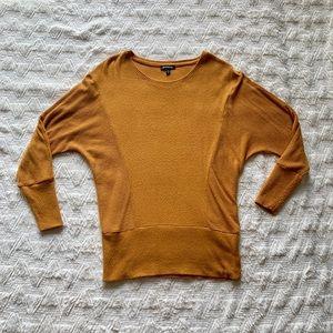 Express Ribbed Top (Mustard)